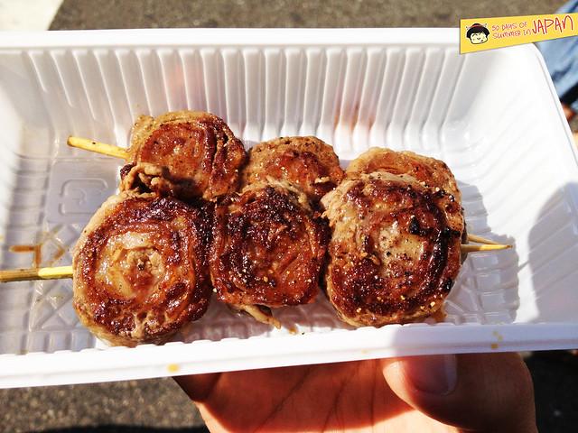 Shitamachi Tanabata Matsuri (2013) - beef roll