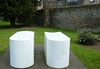 050414 Edinburgh Deane Gallery Sculpture Garden Rachel Whiteread Untitled (Pair) 1999, 4 by mpj1952