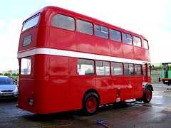 passenger car(0.0), tour bus service(0.0), flxible new look bus(0.0), vehicle(1.0), transport(1.0), mode of transport(1.0), public transport(1.0), double-decker bus(1.0), land vehicle(1.0), bus(1.0),