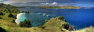 Komodo Pink Beach Panoramic I