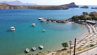 Pallas Beach képe. sea beach mare greece grecia rhodes spiaggia rodi lindos ελληνικά ρόδοσ ἑλλάσ λίνδοσ