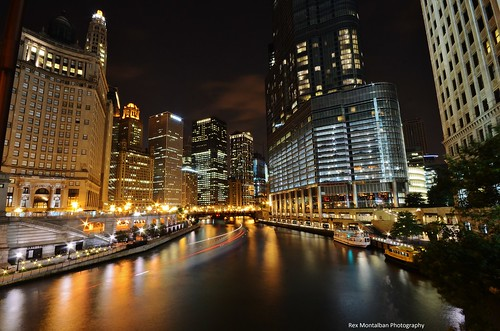 chicago nightscape rexmontalbanphotography