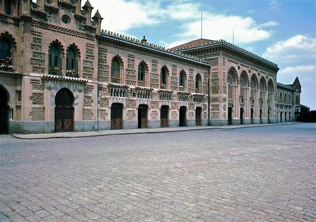 Estación de Ferrocarril de Toledo en 1967. Fotografía de John Fyfe.