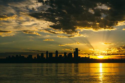 seattle morning sky sun water skyline clouds sunrise canon washington cityscape alki pacificnorthwest pugetsound pnw canoneos7d sigma35mmf14dghsmart johnwestrock