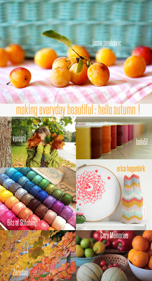 making everyday beautiful : hello autumn! | Emma Lamb