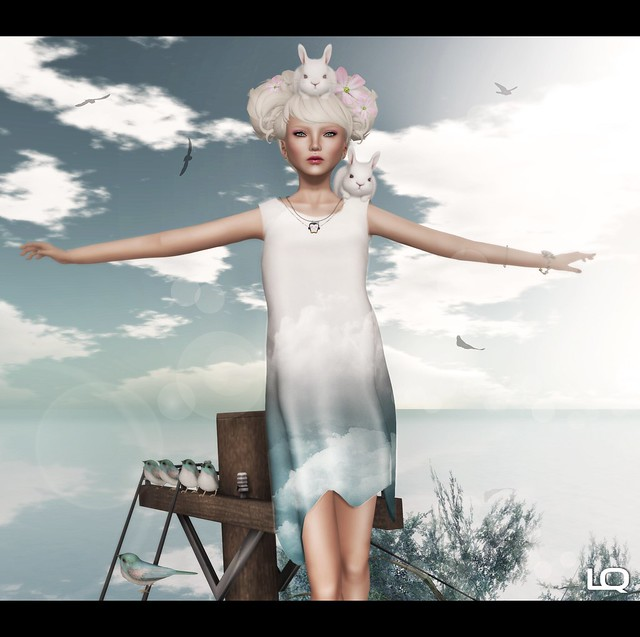 The Secret Store - E-Motion Dress - Clouds for DU5 , Exile::Sugar High & Glam Affair - Lucy - Europa -10A
