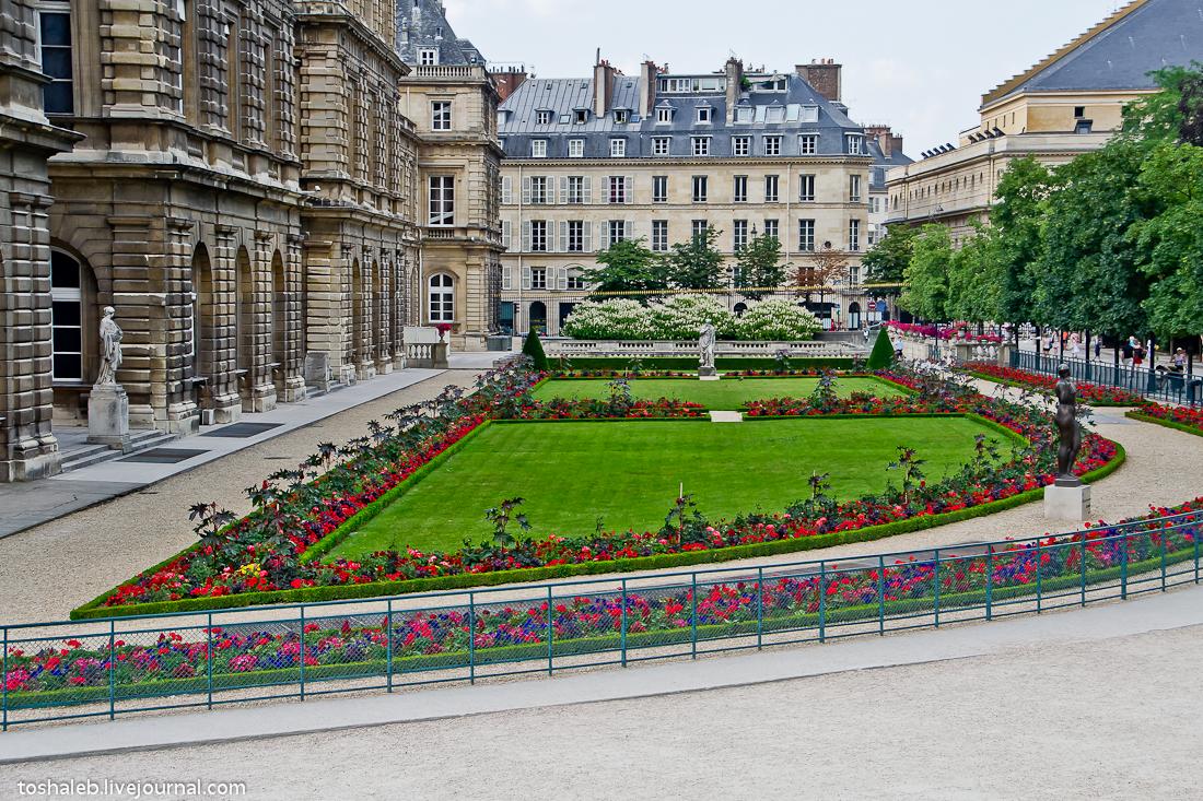 Люксембургские сады-22
