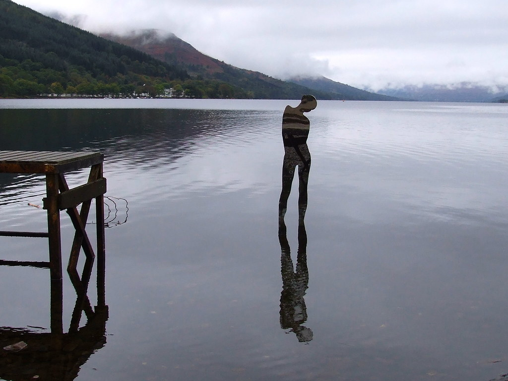 Sculptures on Loch Earn (corrected)