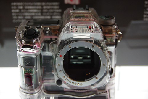 PENTAX K-3 skeleton model