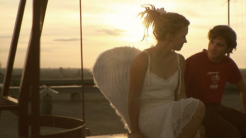 On the roof with an Angel :) (Scene from '13 stages')