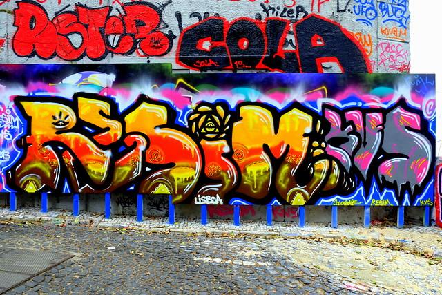 graffiti | resim . kvs | lisbon 2013