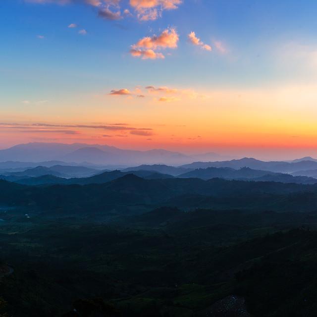Sunrise in Omega Pass