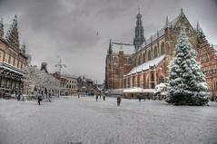 2010 12 17 Haarlem na de Sneeuwbom