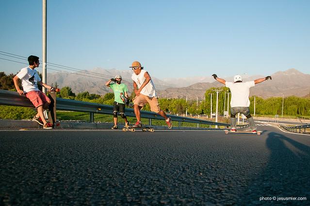 Longboard Los Andes