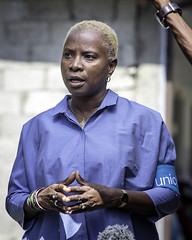 Unicef Goodwill Ambassador Angélique Kidjo visit in Ethiopia