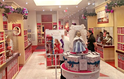 Main entrance, American Girl San Francisco