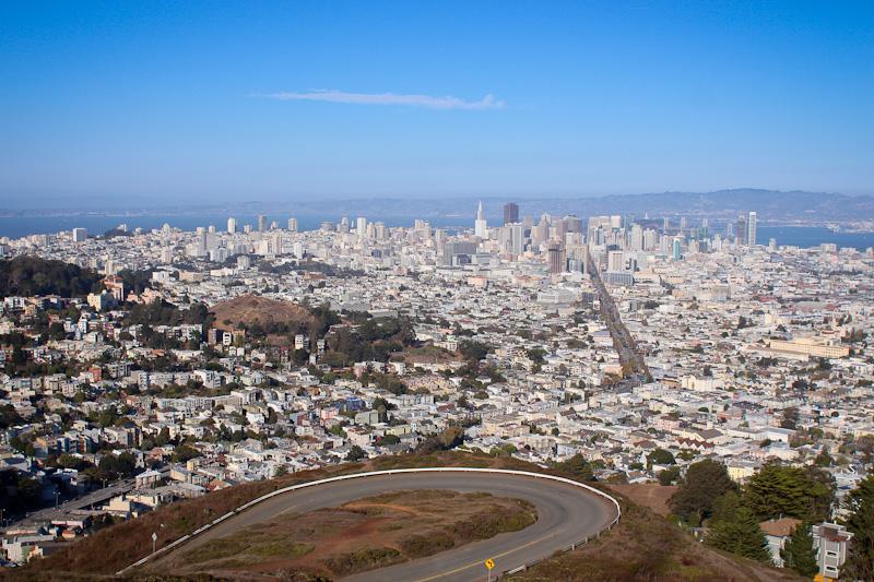 San Francisco vue de Twin Peaks