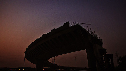 new city bridge sunset india cityscape delhi linn newdelhi sild 24105mmf4lisusm päikeseloojang ef24105mmf4lisusm 24105f4lisusm ef24105lisusm canoneos5dmarkiii madisphotocom facebookcomrealmadisphoto