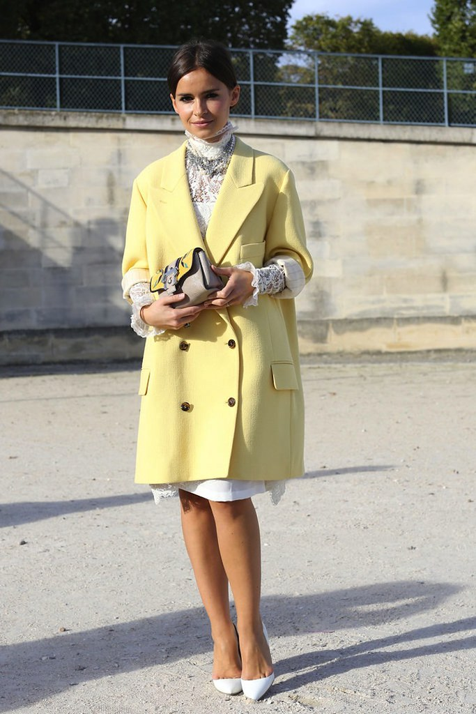 Paris-Fashion-Week-Street-Style-Spring-2013-miroslava-duma-yellow-coat1