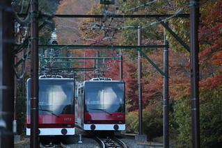 箱根登山鉄道 ケーブルカー(鋼索線)
