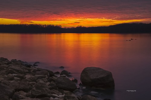sunset landscape landscapes illinois nikon sunsets mississippiriver nationalgeographic quincyil quincyillinois nikond800e