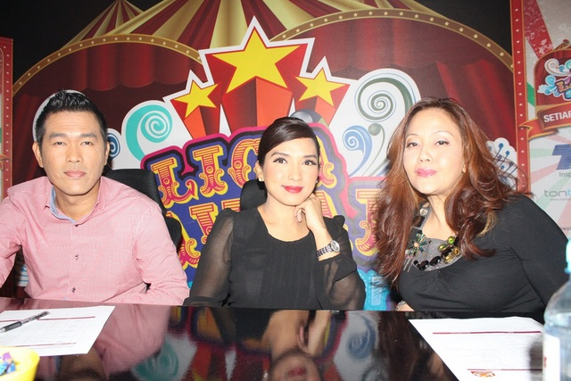 Juri profesional, Adlin Aman Ramli, Vanidah Imran dan Ida Nerina