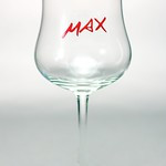 ベルギービール大好き!!【クリーク・マックスの専用グラス】(管理人所有 )