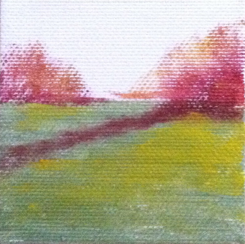 Spring Field (Mini-Painting as of Dec. 10, 2013) by randubnick
