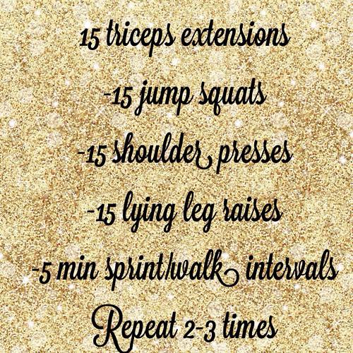 Make a change workout