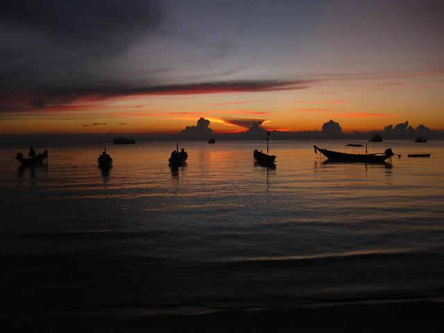 Thailand Sunset (original)
