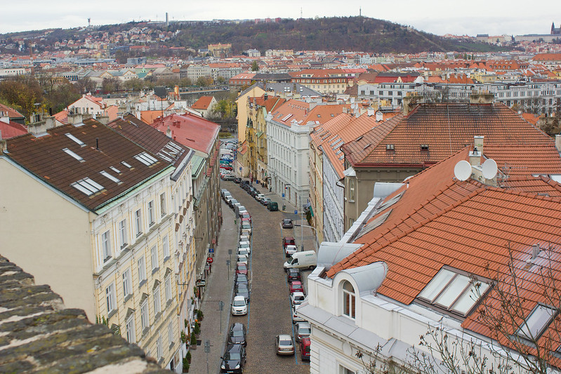 Sunday, November 3: Prague's streets are stunning to look at, those cobblestones do some mad damage to your feet though!