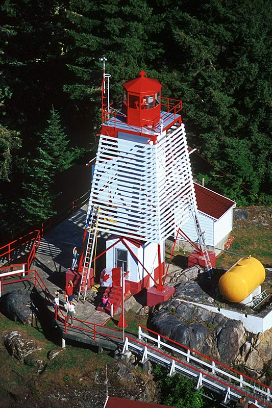 Cape Beale Lighthouse, Bamfield, West Coast Vancouver Island, British Columbia