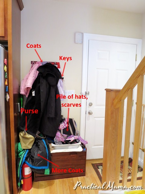 Organizing Entryway