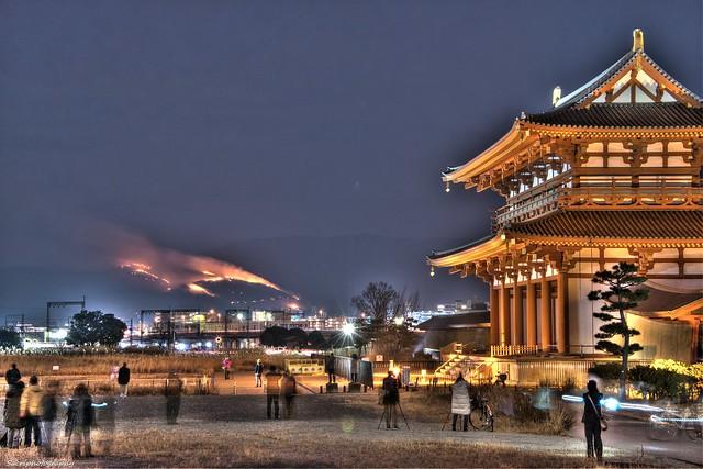 若草山 山焼き 2014 #05