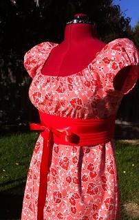 Sis Boom Meghan Peasant Dress