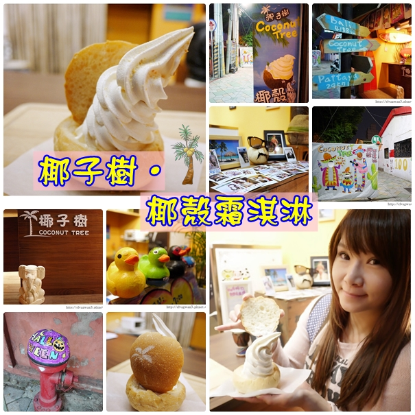 椰子樹椰殼霜淇淋-1