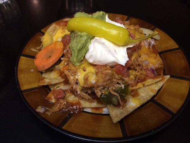 Shredded chicken nachos - Frida's Mexican Grill