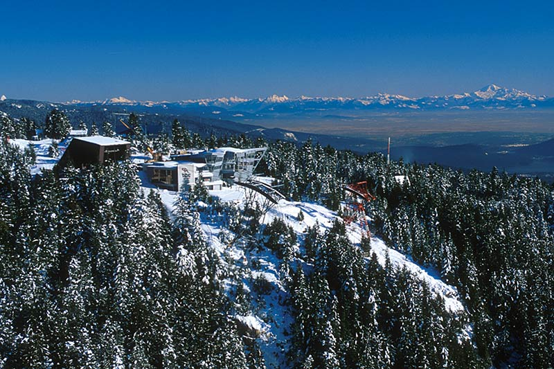 Grouse Mountain, North Vancouver, North Shore of Vancouver, Greater Vancouver, British Columbia, Canada