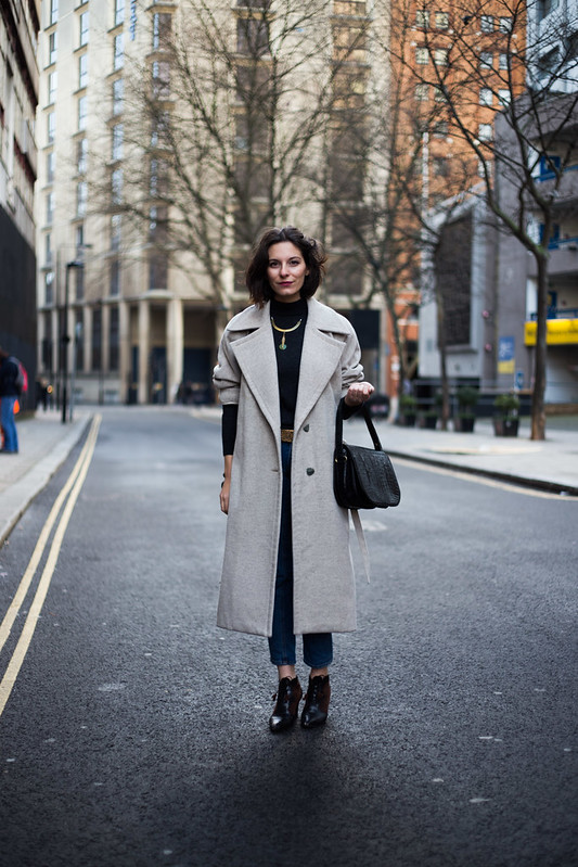 Street Style - Andreea Bogdan, London Collections: Men