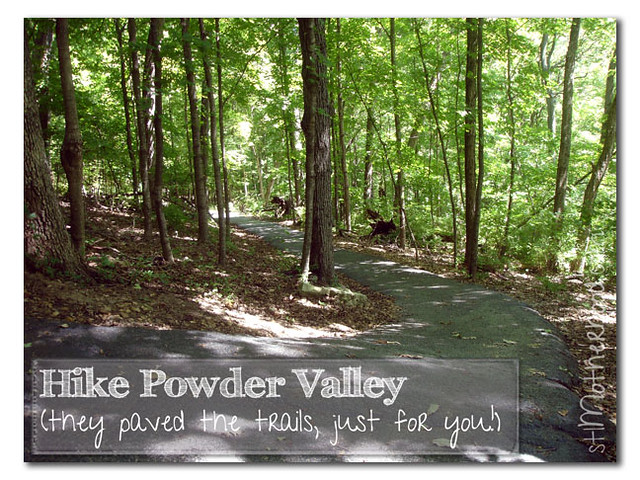 Powder Valley hike paved trails