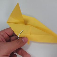 สอนวิธีพับกระดาษเป็นรูปลูกสุนัขยืนสองขา แบบของพอล ฟราสโก้ (Down Boy Dog Origami) 058