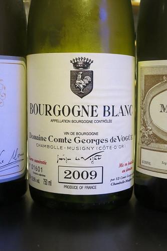 2009 Bourgogne Blanc, Comte Georges de Vogue (Musigny Grand Cru blanc)
