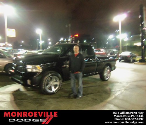 Happy Anniversary to Harold G Close on your 2013 #Dodge #Ram from Thomas  Haskins  and everyone at Monroeville Dodge! #Anniversary by Monroeville Dodge