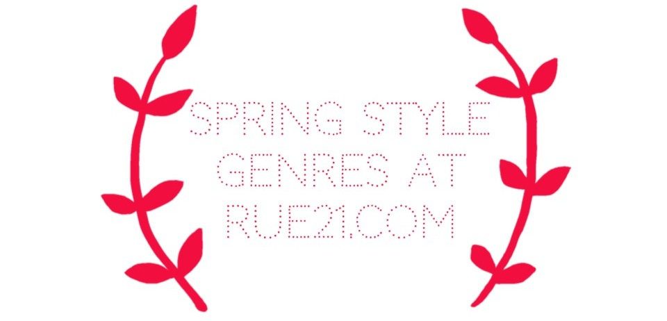 Spring Style Genres.
