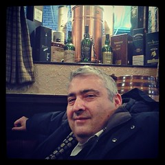 My friend Kakha in the Pot Still