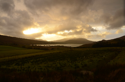 Crazy light on the Killary Fjord