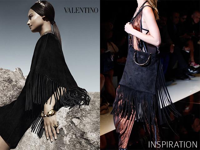 fringe skirt inspiration spring 2014 www.apairandasparediy.com