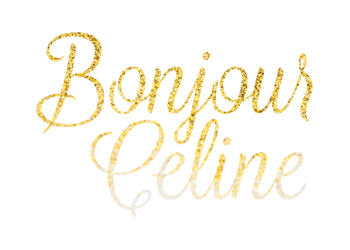 bonjour celine logo by Polystudio