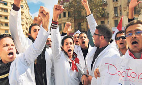 Doctors have gone on strike in Egypt. The nation is still experiencing unrest three years after the fall of Mubarak. by Pan-African News Wire File Photos