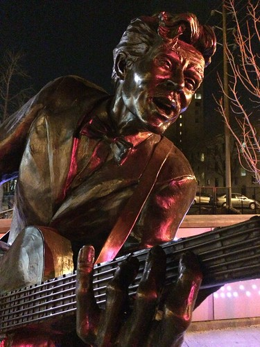An Illuminated Chuck Berry by scoodog / Tom Myler